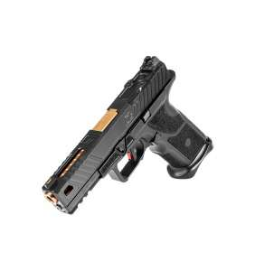 ZEV TECHNOLOGIES OZ-9 BLACK SLIDE BRONZE BARREL